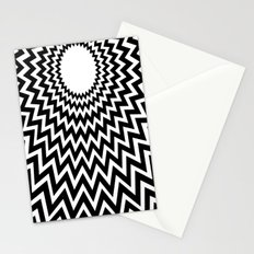 it makes me dizzy Stationery Cards
