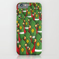 PHEASANTS - Birds | Funny | Comics | Rush | Stupid | Vector | Texture | LOL | Animals  iPhone 6s Slim Case