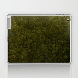 olive green velvet   texture Laptop & iPad Skin