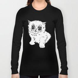 Black Metal Kitty Long Sleeve T-shirt