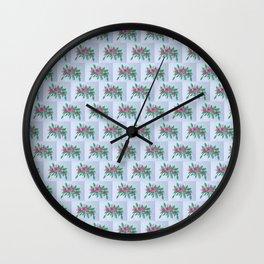 Roses VI-A Wall Clock