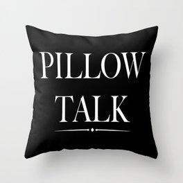 P Talk 1 Throw Pillow