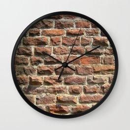 Bricks and Mortar Wall Clock
