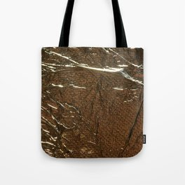 Golden Wrinkles Tote Bag