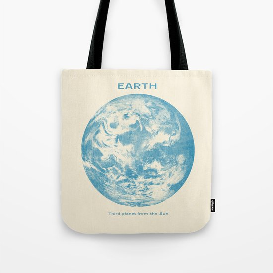 Third Planet  Tote Bag