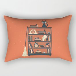 Ghibli Shelf // Miyazaki Rectangular Pillow