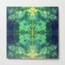 339 - Abstract Colour Design Metal Print