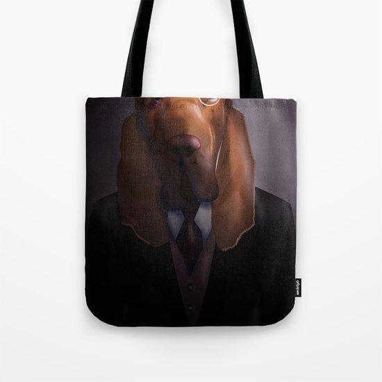 Good-Night, Sir Hound Tote Bag