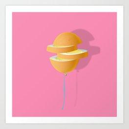 Hard-boiled egg Art Print