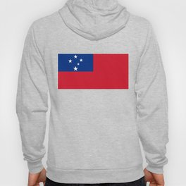 Samoan flag - Authentic version to scale and color Hoody
