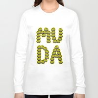 jjba Long Sleeve T-shirts featuring MUDA by Lethal Soul