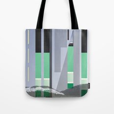 Rolling Through The Pines Tote Bag