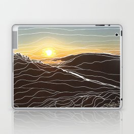 Sunrise Goat Rock 1 Laptop & iPad Skin
