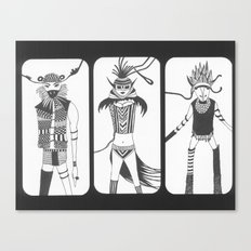 fashion show Canvas Print