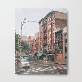 Rainy Ave C Metal Print