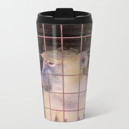 Waiting for Freedom Metal Travel Mug