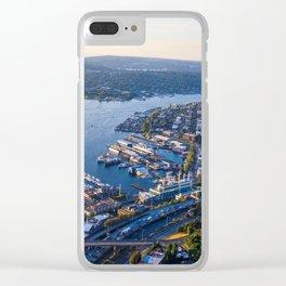 Seattle Washington Clear iPhone Case