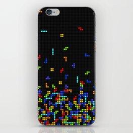 Tetris Time iPhone Skin