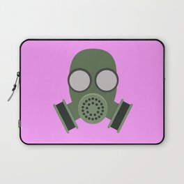 Army Gasmask Laptop Sleeve