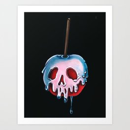 "Disney's Snow White Inspired ""Poisoned Candied Apple"" Art Print"