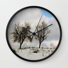 White dreams Wall Clock