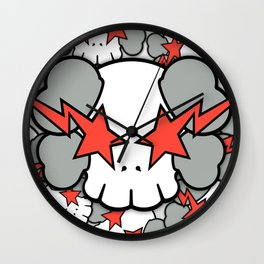 KAWS - Star Skull WallDevil Wall Clock