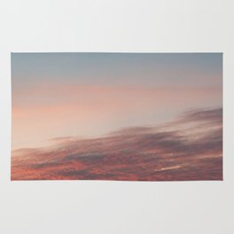 Dappled Peach Skies Rug