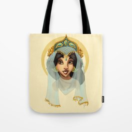 Tribal Princess Jasmine Tote Bag