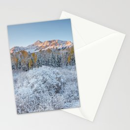 COLORADO ROCKY MOUNTAIN SUNRISE TELLURIDE DRAMATIC LANDSCAPE Stationery Cards