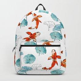 Waterlily koi Backpack