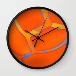Nothing Rhymes With Orange Wall Clock