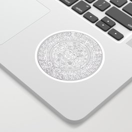 Sun Stone Sticker