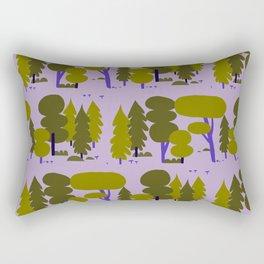 Forest - Day Rectangular Pillow