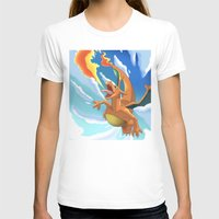 charizard T-shirts featuring Charizard by Pablo Rey
