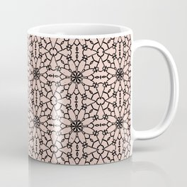 Pale Dogwood Lace Coffee Mug