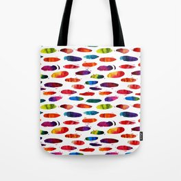 Abstract watercolor ovals Tote Bag