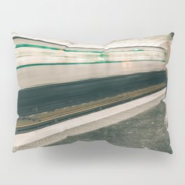 Late for the Train Pillow Sham