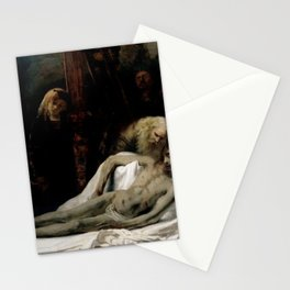 Rembrandt - Lamentation of Christ Stationery Cards