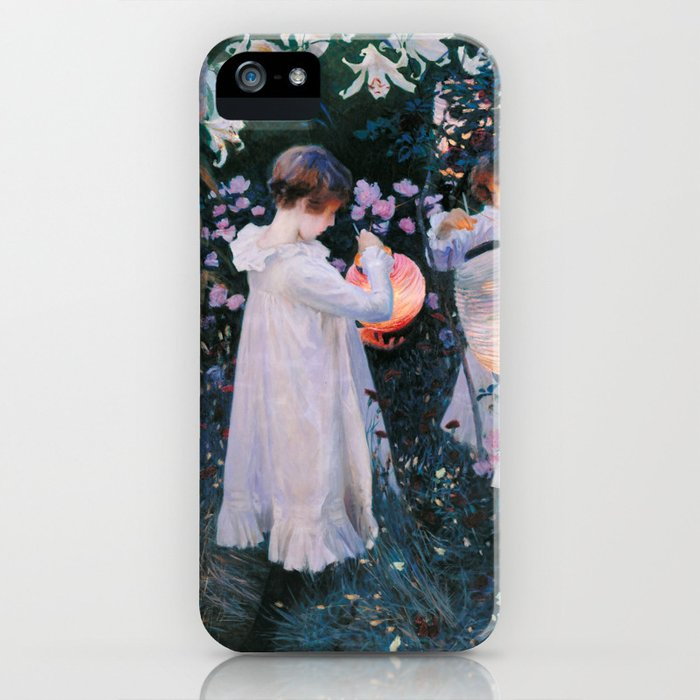 John Singer Sargent Carnation Lily Lily Rose iPhone Case
