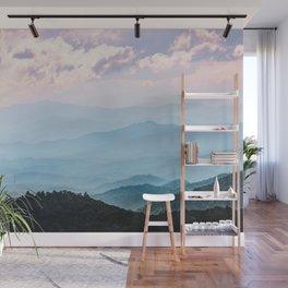 Smoky Mountain National Park Sunset Layers - Nature Photography Wall Mural