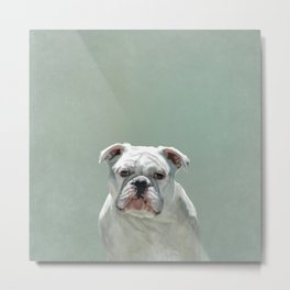 BILL the Bulldog Metal Print