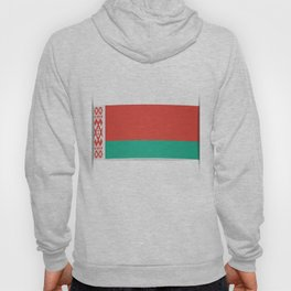 Flag of Belarus.  The slit in the paper with shadows. Hoody