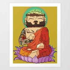 Gautama Block Art Print