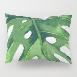 Monstera Leaf Pillow Sham