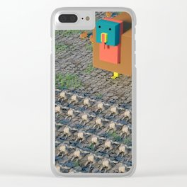 GIVING THANKS Clear iPhone Case