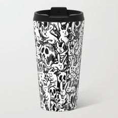 Bunnies & Skulls Travel Mug
