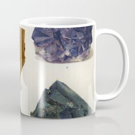 The Mineral Kingdom by Dr. Reinhard Brauns, 1903. Germany. Beautiful Gems Mineral Jewels Coffee Mug