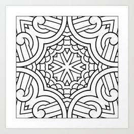 Doodle Patterns Coloring Canvas Home Decor Wall Art Canvas Print Art Print