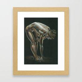 Female figure #3 Framed Art Print