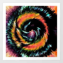 Every Day With You Is Colorful - Whirlwind Romance  Art Print